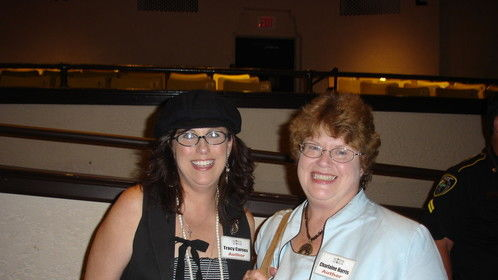 My book signing with Charlaine Harris (SOOKIE STACKHOUSE)