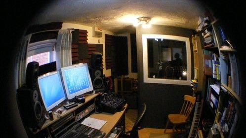 Control room at www.shushstudio.com
