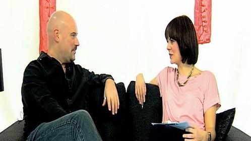 TV interview in Ireland