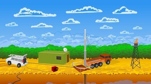 Oil Industry Illustration