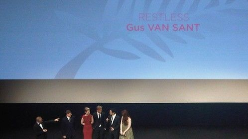 "World Premiere of  ""Restless"" Gus van Sant"