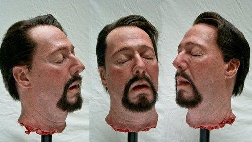 Severed head prop