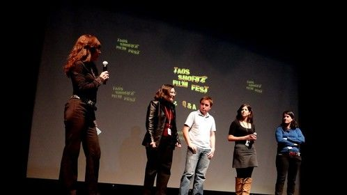 2012  International filmmakers on stage for Q and A