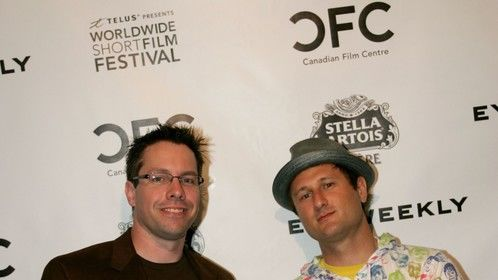 Paul Griswold & Sam Spiegel at the CFC Worldwide Shorts Festival