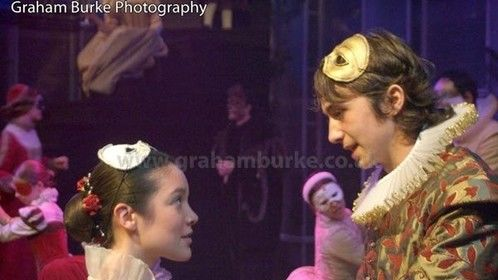 Romeo in Romeo & Juliet, new vic Bristol, UK