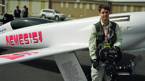 Shooting Super 16 on the doc Air Racer: Chasing the Dream