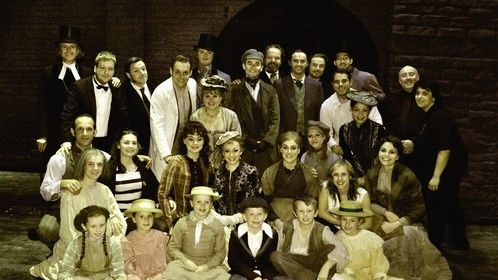 Cast on the finale week of the Jekyll & Hyde UK Tour