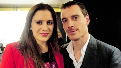 Eve-Yasmine with Michael Fassbender