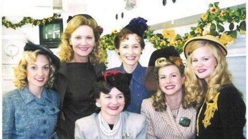 THE NOTEBOOK, back row/center w/ cast members of bridal scene