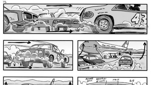 Polished Storyboard from Swing Vote