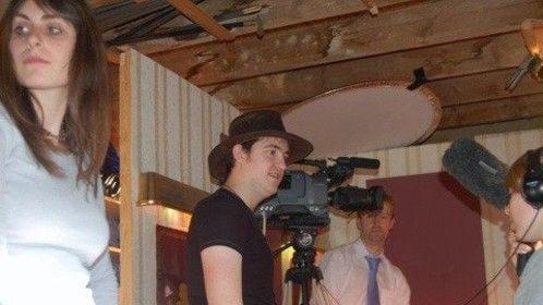 "Shooting ""The Karma Palace"" with Emily Turton (2007)"