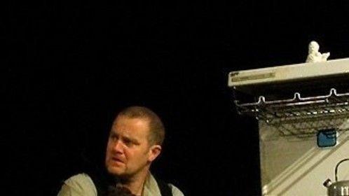 "Davies - ""The Caretaker""  for Mikrokosmos Theatre Co."