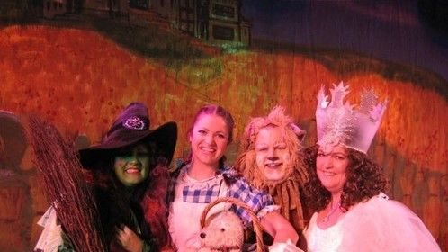"""Cowardly Lion - """"Wizard of Oz"""" North Pier Blackpool - for JSS Productions Ltd."""