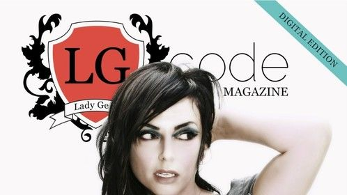 October 2011 Cover with Luciana Caporaso