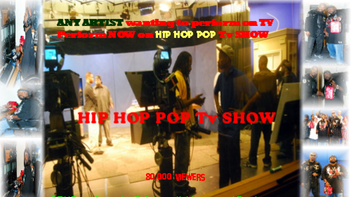 the SET Of Hip HOP POP Tv Show