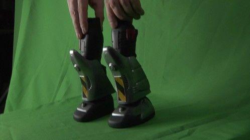Giant Robo-Legs