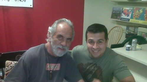 The Great Tommy Chong and I
