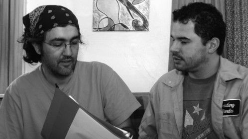 "Directing Raul Dedos in ""Gigantic Saturday"""