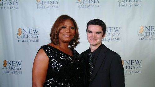 With Queen Latifah