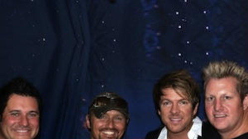 with Rascal Flatts