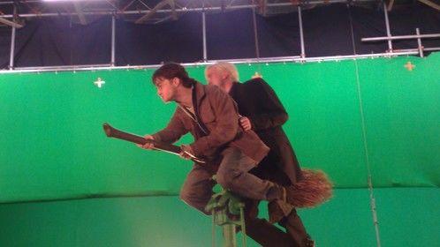 Broom Stick Rig Harry Potter