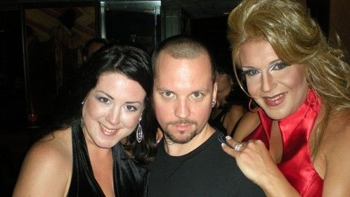 """Gabriel Haze with cast members of the documentary """"Unconditional"""""""
