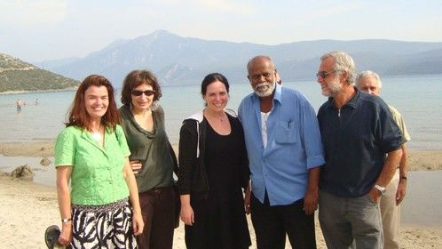 GROUP C IN SAMOS WITH TRAINER CHRISTINA LAZARIDIS