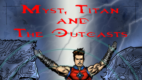 Myst, Titan and the Outcasts - book cover