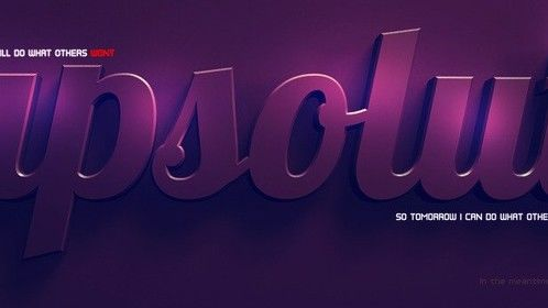Apsolut Violet - 3D and post-processing in photoshop