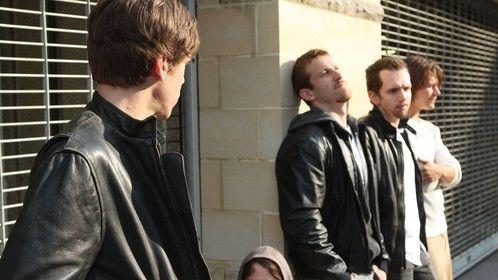 Cast: (Right to Left) Bobby Round, Ryan Dangerfield, Ben Sliwa, AJ Novak, Joshua Davis