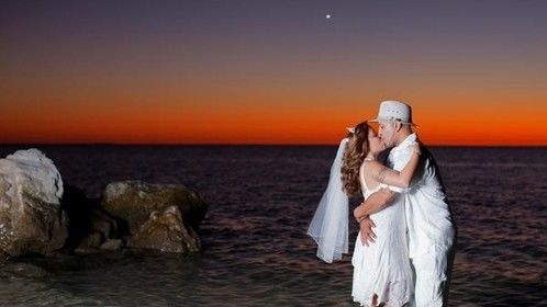 Mari and Pedro Sunset on the Beach