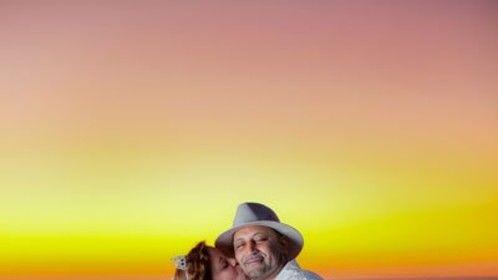 Mari and Pedro Sunset on the Beach 3