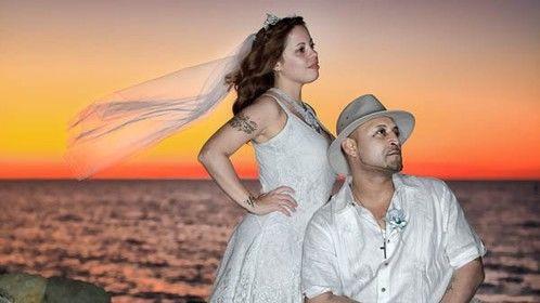 Mari and Pedro Sunset on the Beach 4