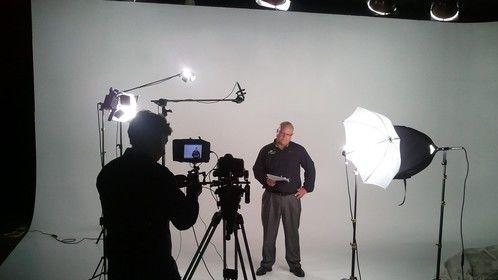 Shoot in White Cyc Studio