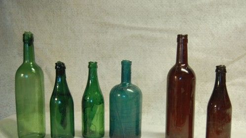 Some of the break away bottles I make