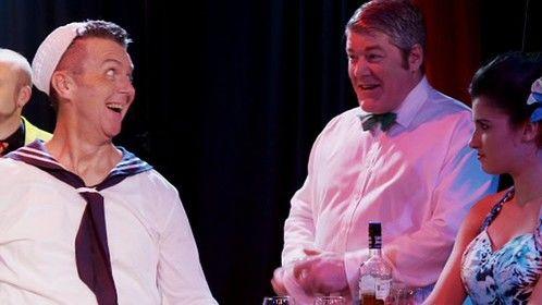 "I'm on the right in the bow tie as a barman in a theatre scene in the film ""Chakara"" by Nick Fletcher"