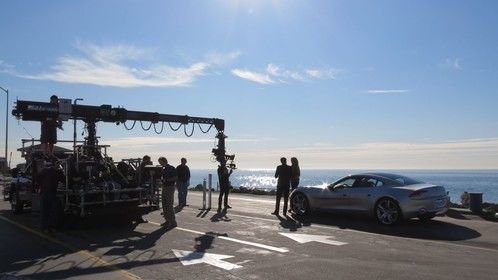 Henrik Fisker before the rig shoot - Galdstones in Malibu, CA
