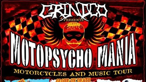 Motopsycho Mania motorcycles & music Tour poster art