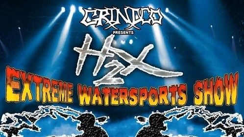 H2X Indoor Watershow Tour poster art