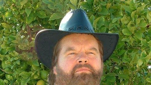 Cowboy Bob dark beard