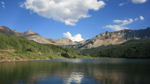 Trout Lake near Telluride, CO