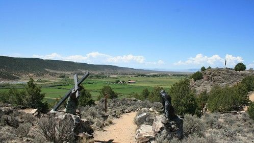 Hiking the Stations of the Cross in San Luis, CO