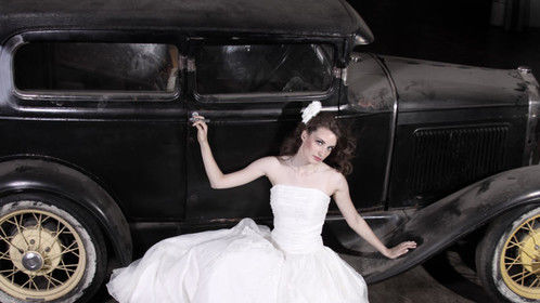 Model Kim Andert Photographer Neil Valli Hair by Mary Spezia