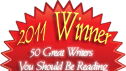 """Anita Waggoner was name as a winner in the 2011 Author's Show contest """"50 Great Writers You Should Be Reading."""""""