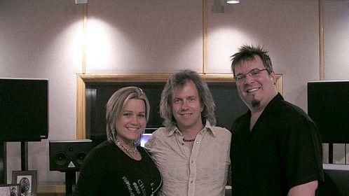 (American Idol- Heather Piccinini) , Shawn & ( Sapphire Records Pres. Dave Engle)