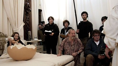 Shooting in Naples (with the Director and others)
