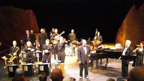 Lou Rugani at Racine Theatre Guild with the Alan Gresik Swing Shift Orchestra, 2010