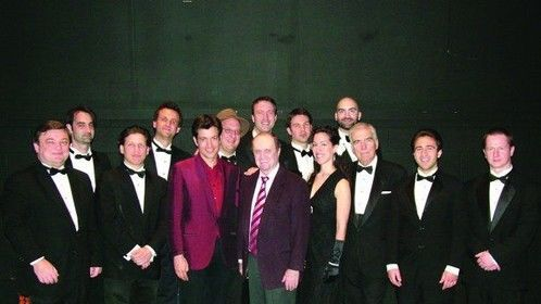 Springfield, Ohio with Bob Newhart and the Alan Gresik Swing Shift Orchestra, 2008