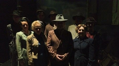Im in the front middle. one of the supernumeraires for An Inspector Calls 2011/2012 tour