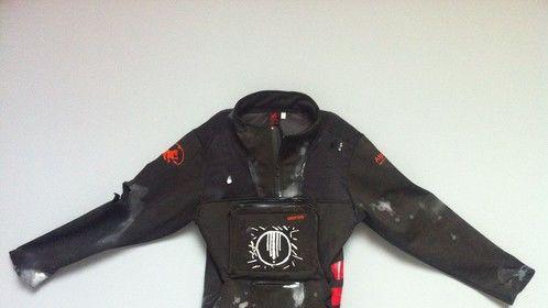 post-apocalyptic ipad jacket for music video